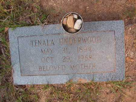 UNDERWOOD, TENALA - Calhoun County, Arkansas   TENALA UNDERWOOD - Arkansas Gravestone Photos