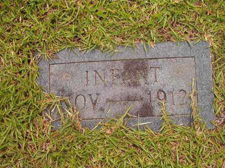 UNKNOWN, INFANT - Calhoun County, Arkansas | INFANT UNKNOWN - Arkansas Gravestone Photos