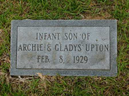UPTON, INFANT SON - Calhoun County, Arkansas | INFANT SON UPTON - Arkansas Gravestone Photos