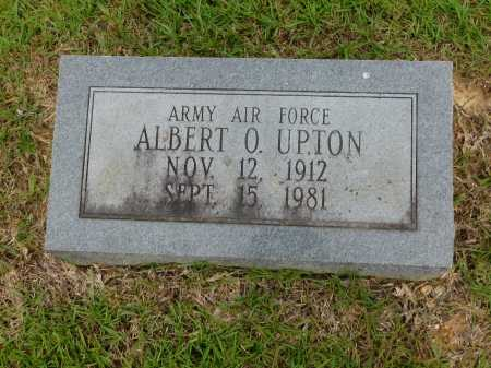 UPTON (VETERAN), ALBERT O - Calhoun County, Arkansas | ALBERT O UPTON (VETERAN) - Arkansas Gravestone Photos