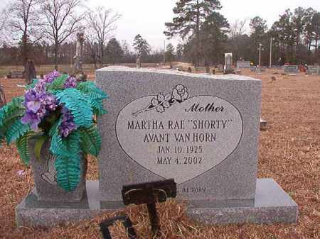 "VAN HORN, MARTHA RAE ""SHORTY"" - Calhoun County, Arkansas 