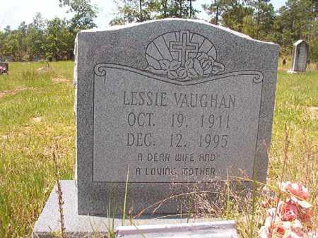 VAUGHAN, LESSIE - Calhoun County, Arkansas | LESSIE VAUGHAN - Arkansas Gravestone Photos