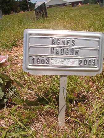 VAUGHN, AGNES - Calhoun County, Arkansas   AGNES VAUGHN - Arkansas Gravestone Photos