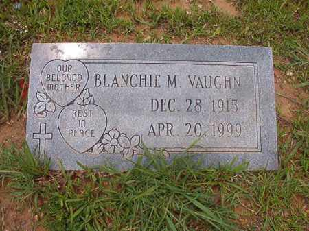 VAUGHN, BLANCHIE M - Calhoun County, Arkansas | BLANCHIE M VAUGHN - Arkansas Gravestone Photos