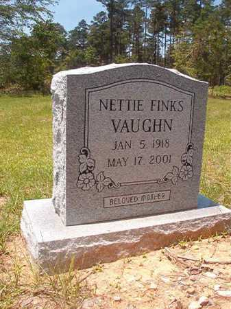 FINKS VAUGHN, NETTIE - Calhoun County, Arkansas | NETTIE FINKS VAUGHN - Arkansas Gravestone Photos