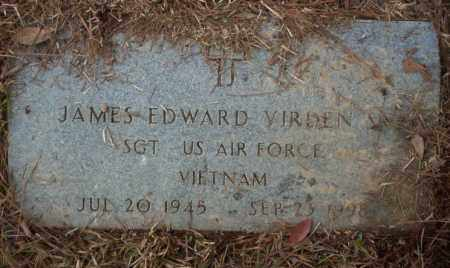 VIRDEN  (VETERAN VIET), JAMES EDWARD - Calhoun County, Arkansas | JAMES EDWARD VIRDEN  (VETERAN VIET) - Arkansas Gravestone Photos