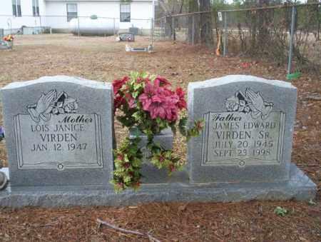 VIRDEN SR., JAMES EDWARD - Calhoun County, Arkansas | JAMES EDWARD VIRDEN SR. - Arkansas Gravestone Photos