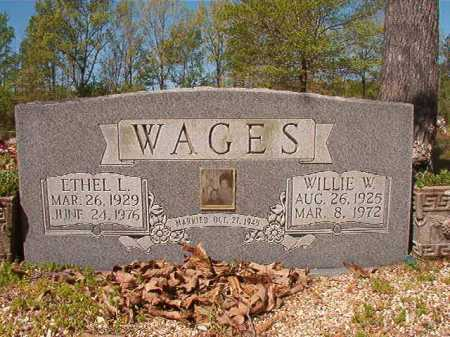 WAGES, ETHEL L - Calhoun County, Arkansas | ETHEL L WAGES - Arkansas Gravestone Photos