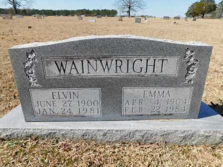 WAINWRIGHT, EMMA - Calhoun County, Arkansas | EMMA WAINWRIGHT - Arkansas Gravestone Photos