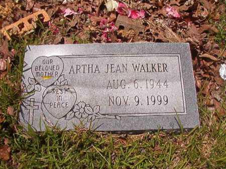 WALKER, ARTHA JEAN - Calhoun County, Arkansas | ARTHA JEAN WALKER - Arkansas Gravestone Photos