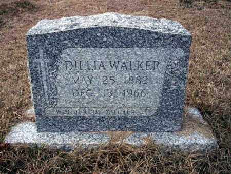 WALKER, DILLIA - Calhoun County, Arkansas | DILLIA WALKER - Arkansas Gravestone Photos