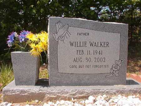 WALKER, WILLIE - Calhoun County, Arkansas | WILLIE WALKER - Arkansas Gravestone Photos