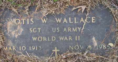 WALLACE  (VETERAN WWII), OTIS W - Calhoun County, Arkansas | OTIS W WALLACE  (VETERAN WWII) - Arkansas Gravestone Photos