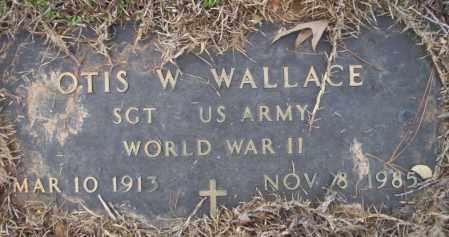WALLACE  (VETERAN WWII), OTIS W - Calhoun County, Arkansas | OTIS W WALLACE  (VETERAN WWII) - Arkansas Gravestone Photos