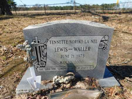 WALLER, TENNETTE NORIKO LA'NEL - Calhoun County, Arkansas | TENNETTE NORIKO LA'NEL WALLER - Arkansas Gravestone Photos