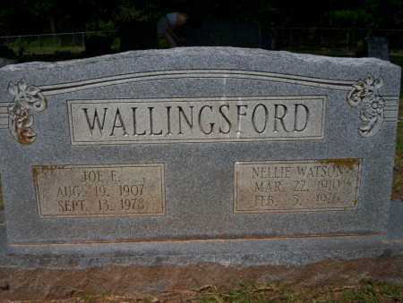 WALLINGSFORD, JOE E - Calhoun County, Arkansas | JOE E WALLINGSFORD - Arkansas Gravestone Photos