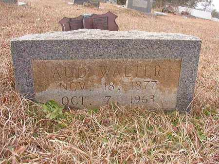 WALTER, AUD - Calhoun County, Arkansas | AUD WALTER - Arkansas Gravestone Photos