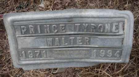 WALTER, PRINCE TYRONE - Calhoun County, Arkansas | PRINCE TYRONE WALTER - Arkansas Gravestone Photos