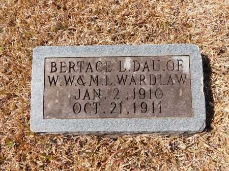 WARDLAW, BERTRACE L - Calhoun County, Arkansas | BERTRACE L WARDLAW - Arkansas Gravestone Photos
