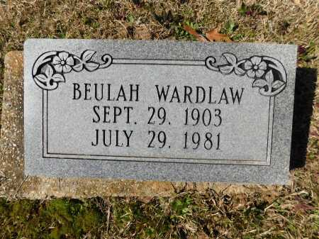 WARDLAW, BEULAH - Calhoun County, Arkansas | BEULAH WARDLAW - Arkansas Gravestone Photos
