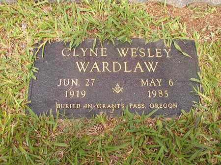 WARDLAW, CLYNE WESLEY - Calhoun County, Arkansas | CLYNE WESLEY WARDLAW - Arkansas Gravestone Photos