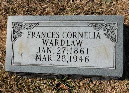 WARDLAW, FRANCES CORNELIA - Calhoun County, Arkansas | FRANCES CORNELIA WARDLAW - Arkansas Gravestone Photos
