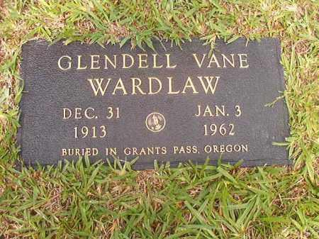 WARDLAW, GLENDELL VANE - Calhoun County, Arkansas | GLENDELL VANE WARDLAW - Arkansas Gravestone Photos
