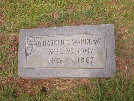 WARDLAW, HAROLD C - Calhoun County, Arkansas | HAROLD C WARDLAW - Arkansas Gravestone Photos