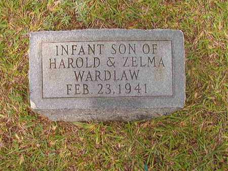 WARDLAW, INFANT SON - Calhoun County, Arkansas | INFANT SON WARDLAW - Arkansas Gravestone Photos