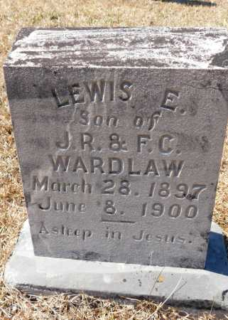 WARDLAW, LEWIS E - Calhoun County, Arkansas | LEWIS E WARDLAW - Arkansas Gravestone Photos