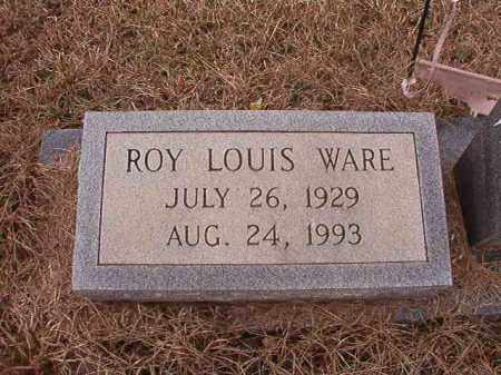 WARE, ROY LOUIS - Calhoun County, Arkansas | ROY LOUIS WARE - Arkansas Gravestone Photos