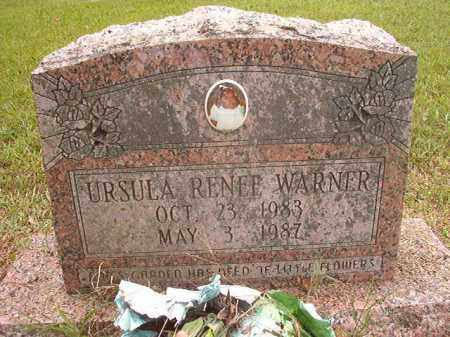 WARNER, URSULA RENEE - Calhoun County, Arkansas | URSULA RENEE WARNER - Arkansas Gravestone Photos