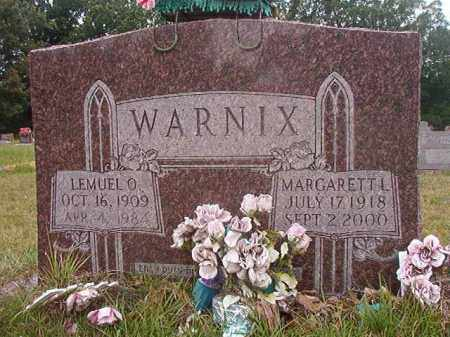 WARNIX, LEMUEL O - Calhoun County, Arkansas | LEMUEL O WARNIX - Arkansas Gravestone Photos