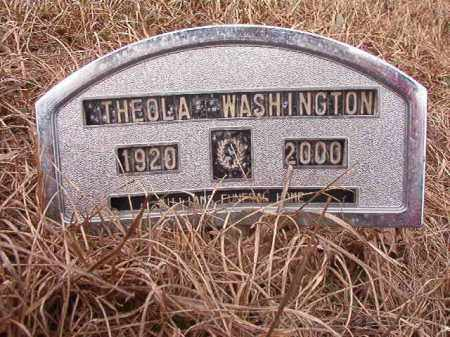 WASHINGTON, THEOLA - Calhoun County, Arkansas | THEOLA WASHINGTON - Arkansas Gravestone Photos