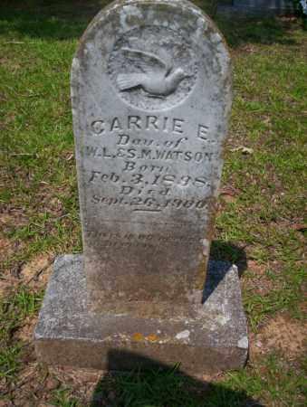 WATSON, CARRIE E - Calhoun County, Arkansas | CARRIE E WATSON - Arkansas Gravestone Photos