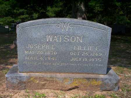 WATSON, LILLIE F - Calhoun County, Arkansas | LILLIE F WATSON - Arkansas Gravestone Photos