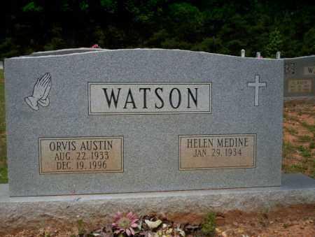 WATSON, ORVIS AUSTIN - Calhoun County, Arkansas | ORVIS AUSTIN WATSON - Arkansas Gravestone Photos