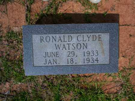 WATSON, RONALD CLYDE - Calhoun County, Arkansas | RONALD CLYDE WATSON - Arkansas Gravestone Photos