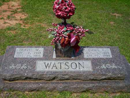 WATSON, TRAVIS W - Calhoun County, Arkansas | TRAVIS W WATSON - Arkansas Gravestone Photos