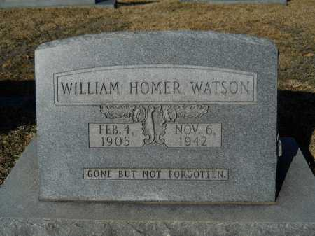 WATSON, WILLIAM HOMER - Calhoun County, Arkansas | WILLIAM HOMER WATSON - Arkansas Gravestone Photos