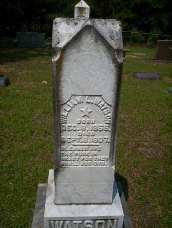 WATSON, WILLIAM L - Calhoun County, Arkansas | WILLIAM L WATSON - Arkansas Gravestone Photos