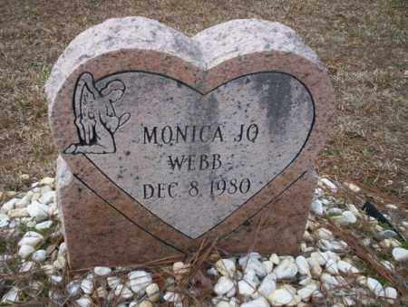 WEBB, MONICA JO - Calhoun County, Arkansas | MONICA JO WEBB - Arkansas Gravestone Photos