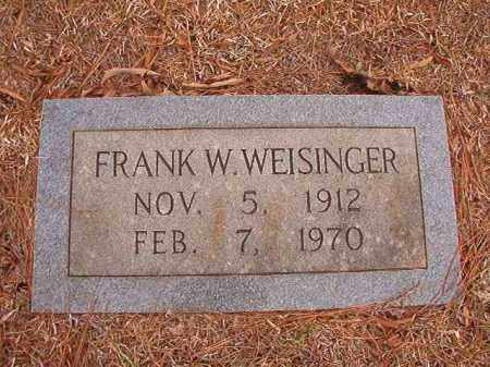 WEISINGER, FRANK W - Calhoun County, Arkansas | FRANK W WEISINGER - Arkansas Gravestone Photos