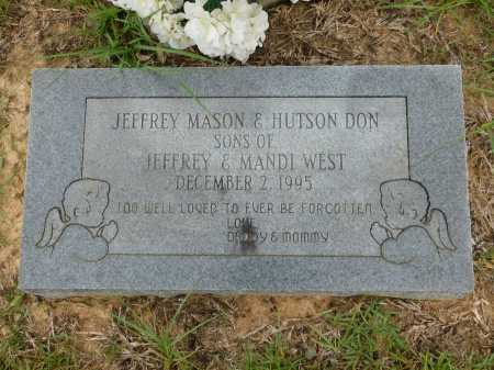 WEST, HUTSON DON - Calhoun County, Arkansas | HUTSON DON WEST - Arkansas Gravestone Photos