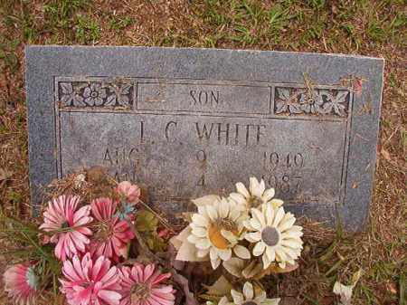 WHITE, L C - Calhoun County, Arkansas | L C WHITE - Arkansas Gravestone Photos