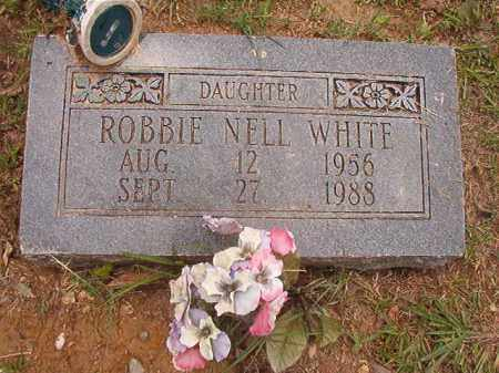 WHITE, ROBBIE NELL - Calhoun County, Arkansas | ROBBIE NELL WHITE - Arkansas Gravestone Photos