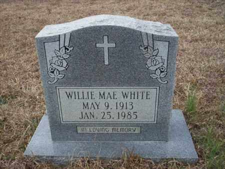 WHITE, WILLIE MAE - Calhoun County, Arkansas | WILLIE MAE WHITE - Arkansas Gravestone Photos