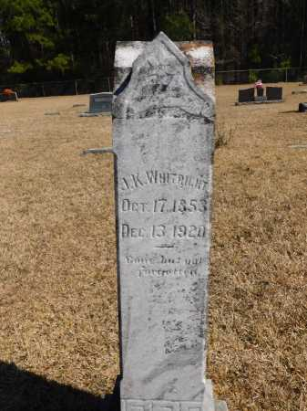 WHITRIGHT, J K - Calhoun County, Arkansas | J K WHITRIGHT - Arkansas Gravestone Photos