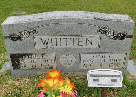WHITTEN, OPAL G - Calhoun County, Arkansas | OPAL G WHITTEN - Arkansas Gravestone Photos