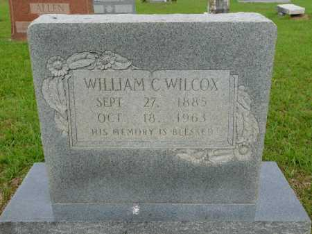 WILCOX, WILLIAM C - Calhoun County, Arkansas | WILLIAM C WILCOX - Arkansas Gravestone Photos